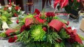 Cardinal Christmas Centrepiece Christmas