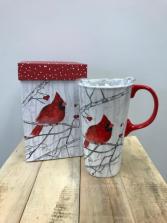 Cardinal Cup w/Box