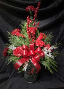 Cardinal Designer's Choice Christmas Arrangement