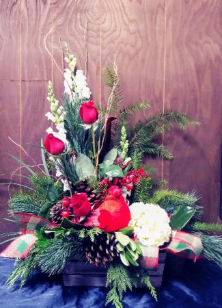 Cardinal Floral Design