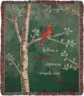 Cardinal  inspiritional Throw
