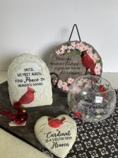 Cardinal Memorial Sympathy Gift