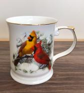 Cardinal mug Fine bone China mug
