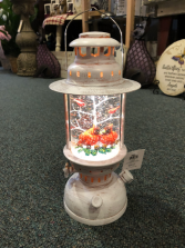 Cardinal Snow Globe Lantern A beautiful Lantern with a set of Cardinals, soothing to the soul!