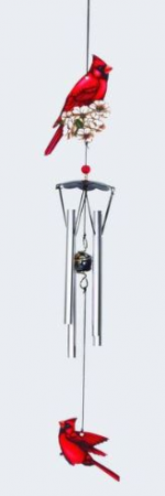 Cardinal Wind Chime Gift Item