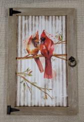 Cardinal Window Print Wall Art
