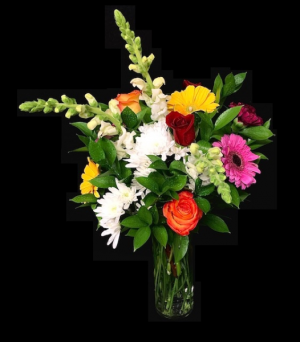 Carefree Mixed Floral Bouquet in Plainview, TX   Kan Del's Floral, Candles & Gifts