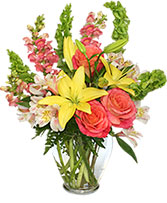 Carefree Spirit Flower Arrangement in Draper, Utah | Draper FlowerPros