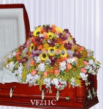 Caring Love Casket Spray Casket Spray Flowers