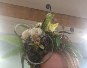 Carmen Miranda Headpiece in Astoria, OR | BLOOMIN CRAZY FLORAL