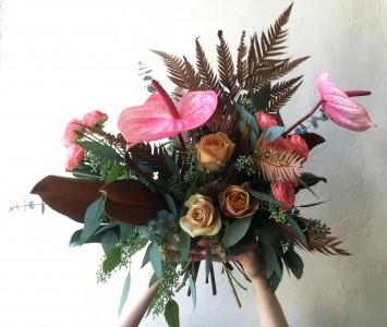 Carmine Terracotta Handtied Bouquet