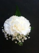 Carnation Boutonniere Boutonniere