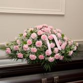 Carnation Casket ( ANY COLOR) Casket Flowers