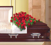 Carnation Casket Spray  Casket Spray