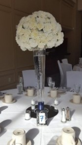 Carnation Flower Ball Centerpiece Centerpiece