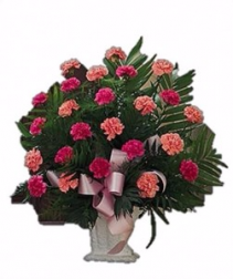 Carnation Funeral Spray