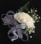 Carnation Pin-On Corsage