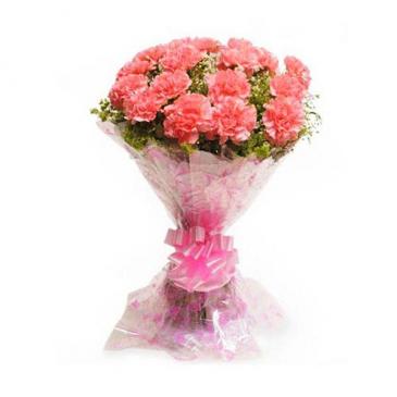 Carnation Presentation Bouquet