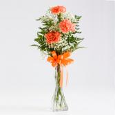 Carnation Trio Bud Vase