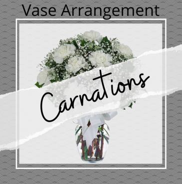 Carnation Vase Arrangement