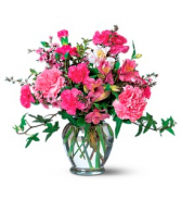 Carnations & Alstromeria - 532 Vase Arrangement