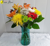 Gen-Carousel of Color Vase and flower colors can change