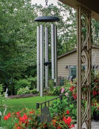 Carson Gifts  Amazing Grace Garden Wind Chime