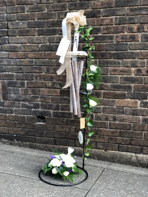 Carson Wind chime on stand wind chimes in Murfreesboro, TN | Veda's Flowers & Gifts