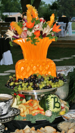 Carved Tablescape Wedding / Event
