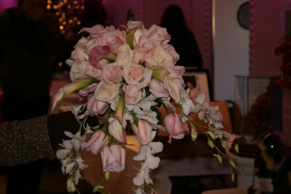 Pink Cloud Cascade Bouquet