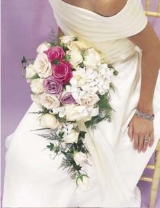 Cascade of Pastels Bridal Bouquet