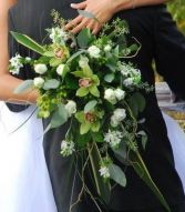 Cascading Beauty Wedding Bouquet