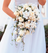 Cascading Bouquet Bridal Bouquet