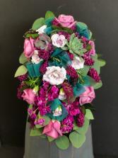 Cascading Bouquet with Succulent