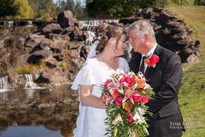 Cascading Bridal Bouquet  in Marysville, WA   What's Bloomin' Now Floral