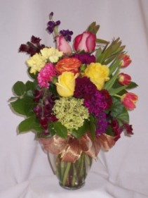 Cascading Colors - AMAPOLA BLOSSOMS:  Get Well Flowers Prince George BC