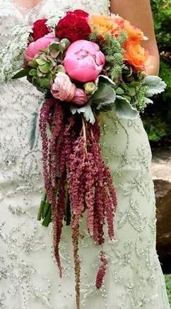 Cascading Elegance Bridal Bouquet
