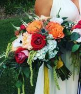Cascading Garden Bridal Bouquet