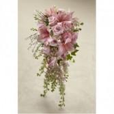 Cascading modern Bride bouquet