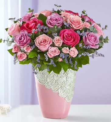 CASCADING ROSE BOUQUET 163059