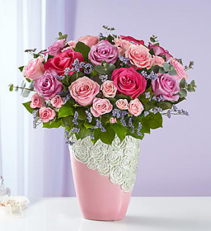 Cascading Rose Bouquet™  in Valley City, OH | HILL HAVEN FLORIST & GREENHOUSE