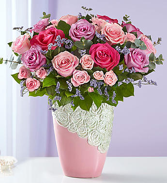 Cascading Rose Bouquet  Roma Florist & Greenhouse