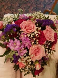 Casket Adornment Heart Casket Flowers