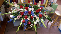 Casket Arrangement  Fresh