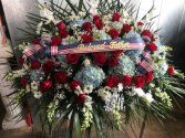 Casket cover Patriotic Funeral
