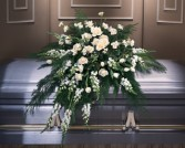 Casket Flower Roses and Cornations
