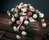 Casket Flower Cornations