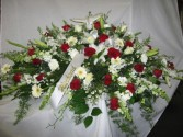 Loving Peace Casket Arrangement