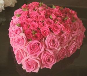 Casket heart Placed in casket  in Ozone Park, NY | Heavenly Florist
