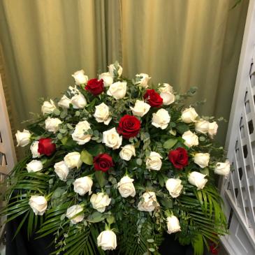 Casket Mound Funeral